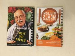 2 Spiral bound recipe books:  Million Meals Menu Planner & F