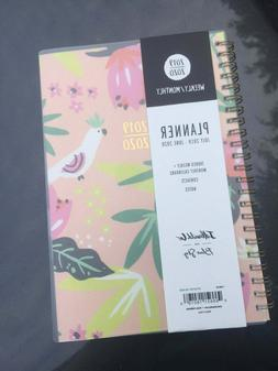2019/2020 Floral Day Planner - Blue Sky New
