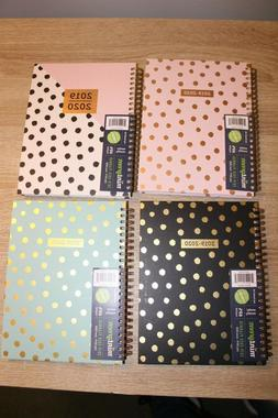 Mintgreen 2019-2020 Monthly Weekly Planner Agenda Contacts S