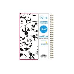 Blue Sky 2019-2020 Year Weekly & Monthly Planner, Flexible C