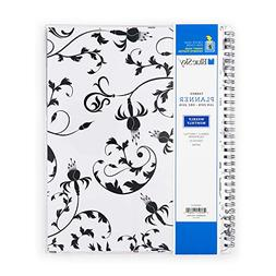 Blue Sky 2019 Weekly & Monthly Planner, Flexible Cover, Twin
