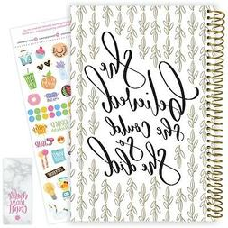 2020-21 Soft Cover Academic Daily Planner Calendar, Writeful