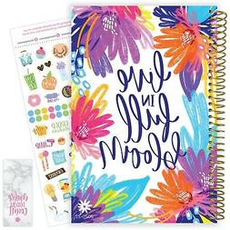 2020-21 Soft Cover Academic Daily Planner Calendar, Live in