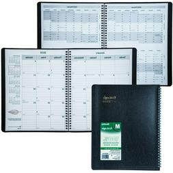 2020 Brownline EcoLogix CB435W.BLK Monthly Planner, 8-1/2 x