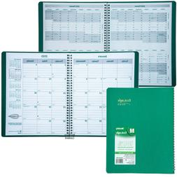 2020 Brownline EcoLogix CB435W.GRN Monthly Planner, 8.5 x 11