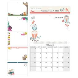2020 Memo Board Wall Calendar Planner Month to View Family O