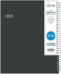 2020 Weekly & Monthly Professional Planner Flexible Cover En