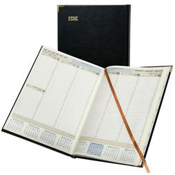 2021 Brownline CBE512 Executive Weekly Planner, Hardcover, 1