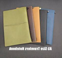 A5 Size Travelers Notebook / Hobonichi Cover Genuine Leather