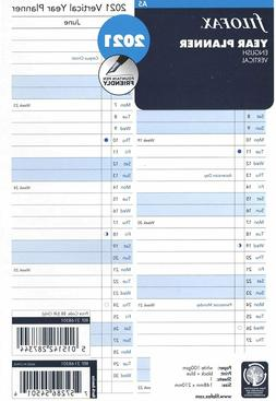 Filofax A5 Size Vertical Year Planner 2020 Refill Insert 20-
