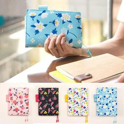 Agenda Planner Cute Flower Fitted Leather Notebook Stationer