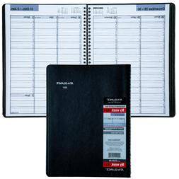 "AT-A-GLANCE DayMinder Weekly Planner, 8"" x 11"", Black, 2021,"