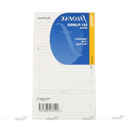 Filofax Book Personal Undated Day Planner Diary Notepaper Re