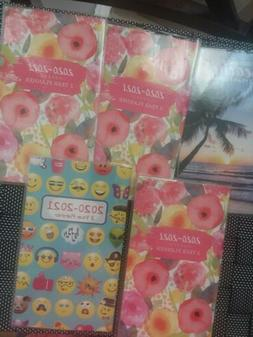 Calendars, 2020,2021 2 Year Planners,lot Of 5