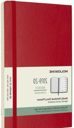 Moleskine Classic 18 Month 2019-2020 Weekly Planner, Soft Co