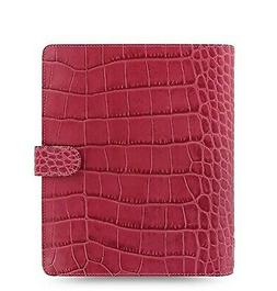 Filofax Classic Croc Print Leather Weekly Daily Planner Orga