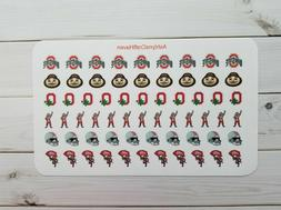 College Football Planner Stickers- Perfect For Any Planner-