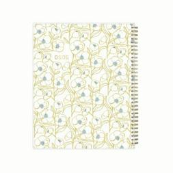 Blue Sky Egg Press Wkly/Mthly Planner, 8.5 x 11, Blue Flower