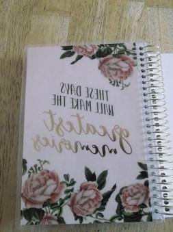 Recollections Goal Spiral Planner Creative Year