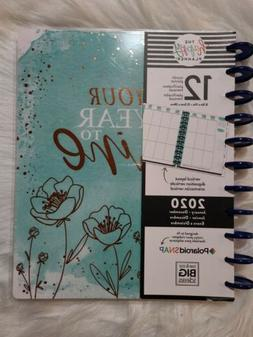 Happy Planner 2020 Your Year To Shine Blue Flower me & my Bi