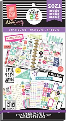MAMBI Create 365 Happy Planner Value Pack Student Stickers F