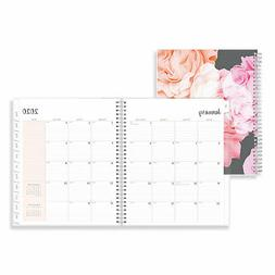 Blue Sky Joselyn Monthly Wirebound Planner 10 x 8 Light Pink
