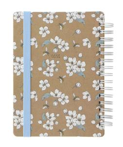 Letts Kraft Bee 2020 Diary A6 Week To View Full Year Planner