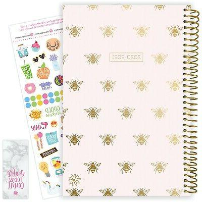 2020 21 soft cover academic daily planner