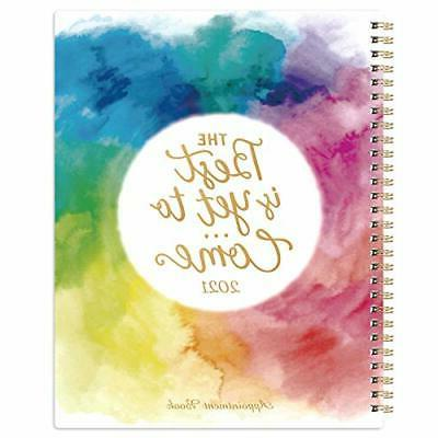 """2021 Appointment Book/Planner 8"""" x 10"""", - Dec."""