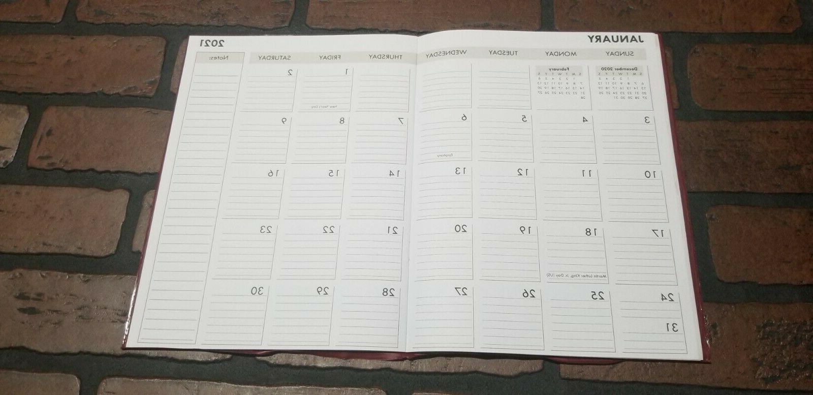 """2021 Monthly Appointment Calendar Day 10"""" Cover"""