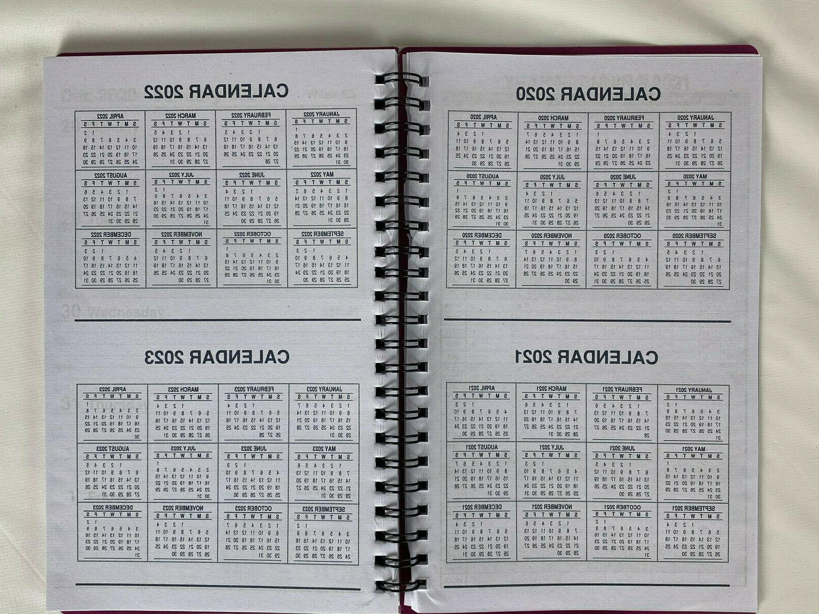 2021 Spiral Weekly/Monthly Planner Calendar Appointment Agenda 5x8