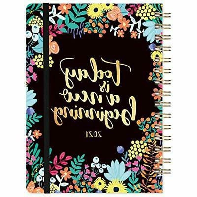 2021 weekly monthly planner 6 4x8 5