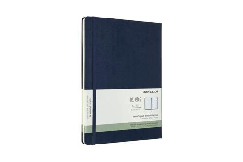 Moleskine Classic 18 Month 2019-2020 Weekly Planner, Hard Co