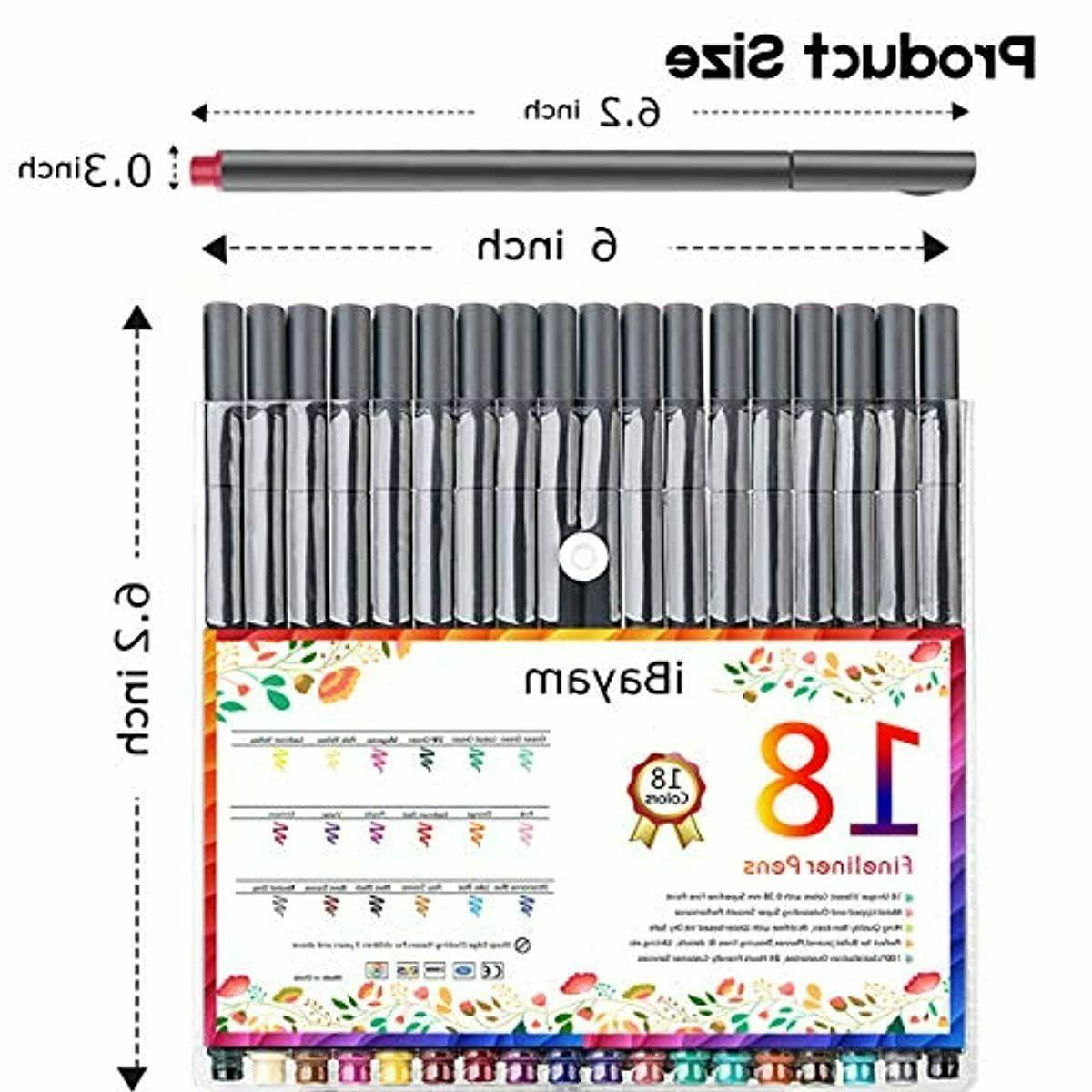 iBayam Pens Colored Markers Fine Pen