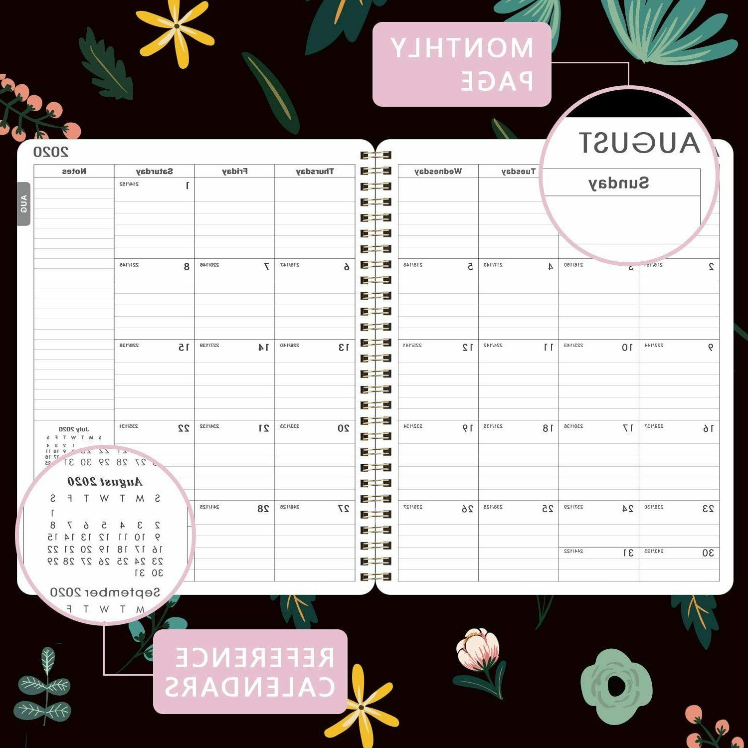 """NEW & Monthly Planner 8"""" 10"""" with Cover"""