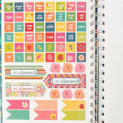 Spiral Monthly Weekly Calendar Hardcover