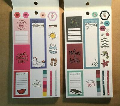 The Planner SET of SEASONS Books WINTER SPRING FALL
