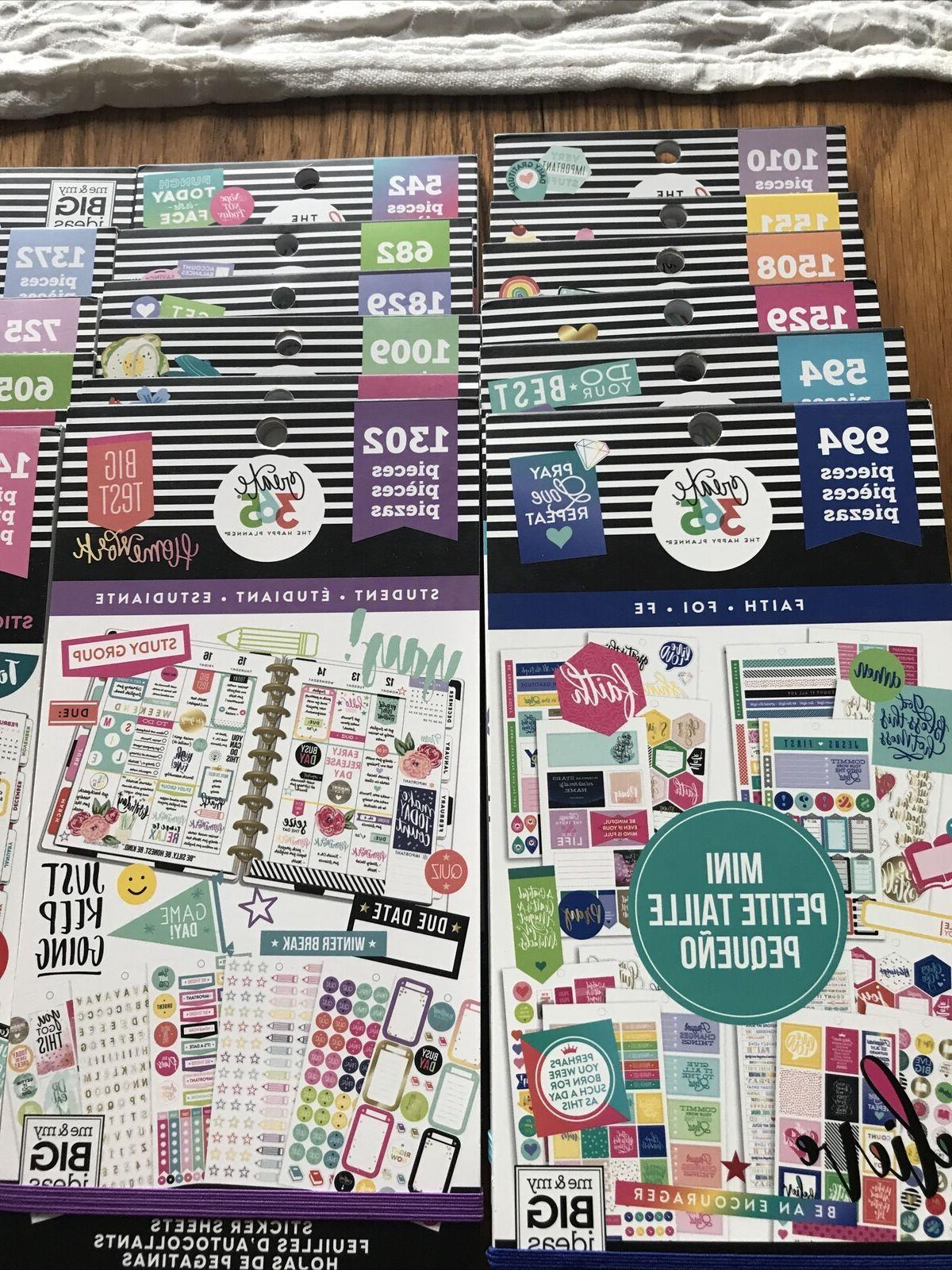 the happy planner sticker books choose your
