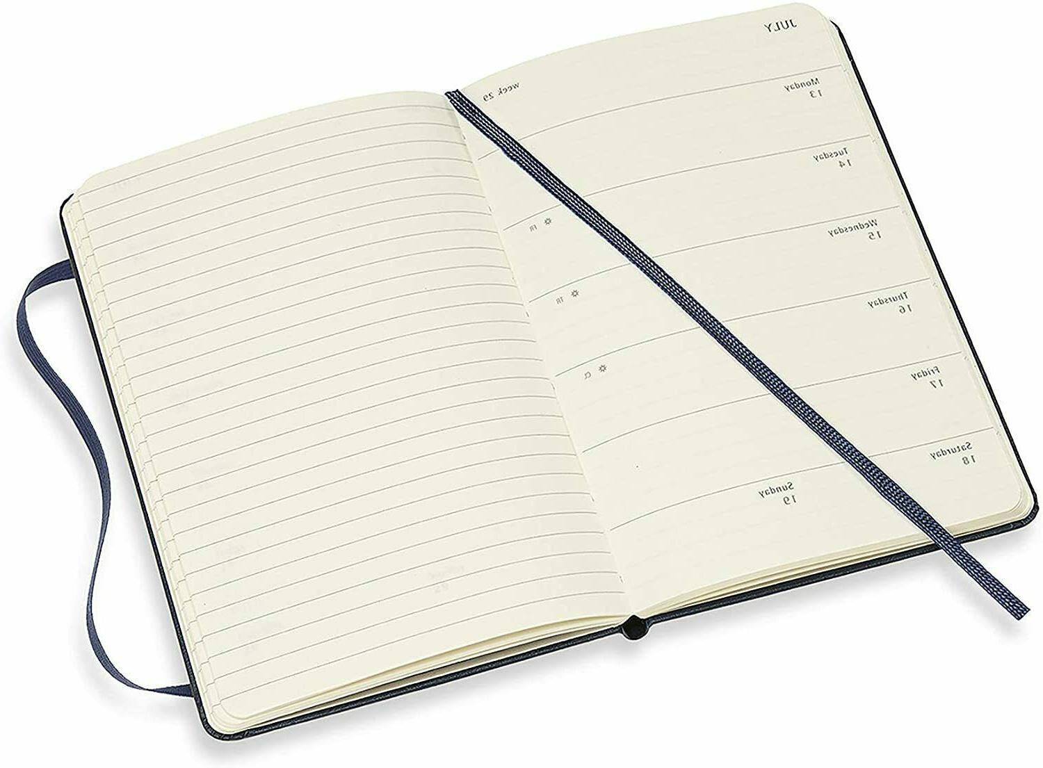 Moleskine Notebook Diary/Planner Soft Cover