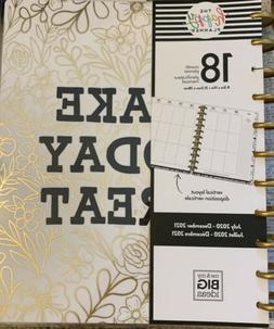 """Mambi 11 Disc Make Today Great Happy Planner """"BIG"""" 18mo Plan"""