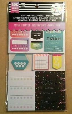 "me & my big ideas the happy planner ""HABIT TRACKING"" Multi A"