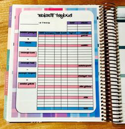Monthly Budget Spending Tracker Dashboard Insert 4 use w Eri