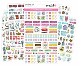 bloom daily planners New Classic Planner Sticker Sheets - Va