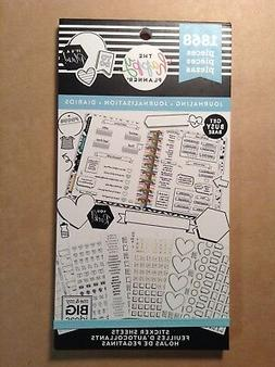 "NEW! me & my big ideas the happy PLANNER ""JOURNALING"" Sticke"