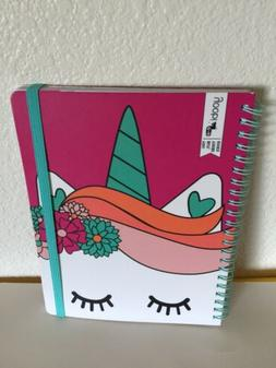 New Yoobi Planner Undated Unicorn Monthly Weekly Great for s