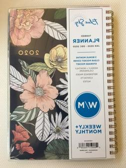 New, Blue Sky Weekly/Monthly Tabbed Planner Jan-Dec 2020, 5