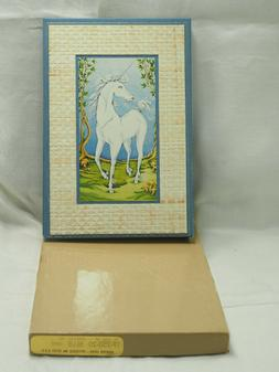 NOS Unicorn 8 X 7 Cover At-A-Glance Home telephone Address r