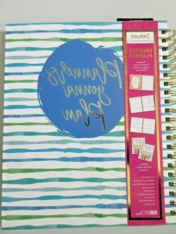 Paper Craft Deluxe Creative Planner Perpetual 12 Month Forma