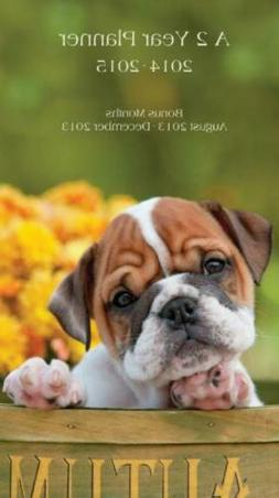Perfect Timing - Lang 2014 Puppy 2-Year Planner, January 201