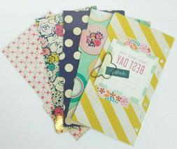 Planner Dividers Personal Handmade Pink Mint Navy